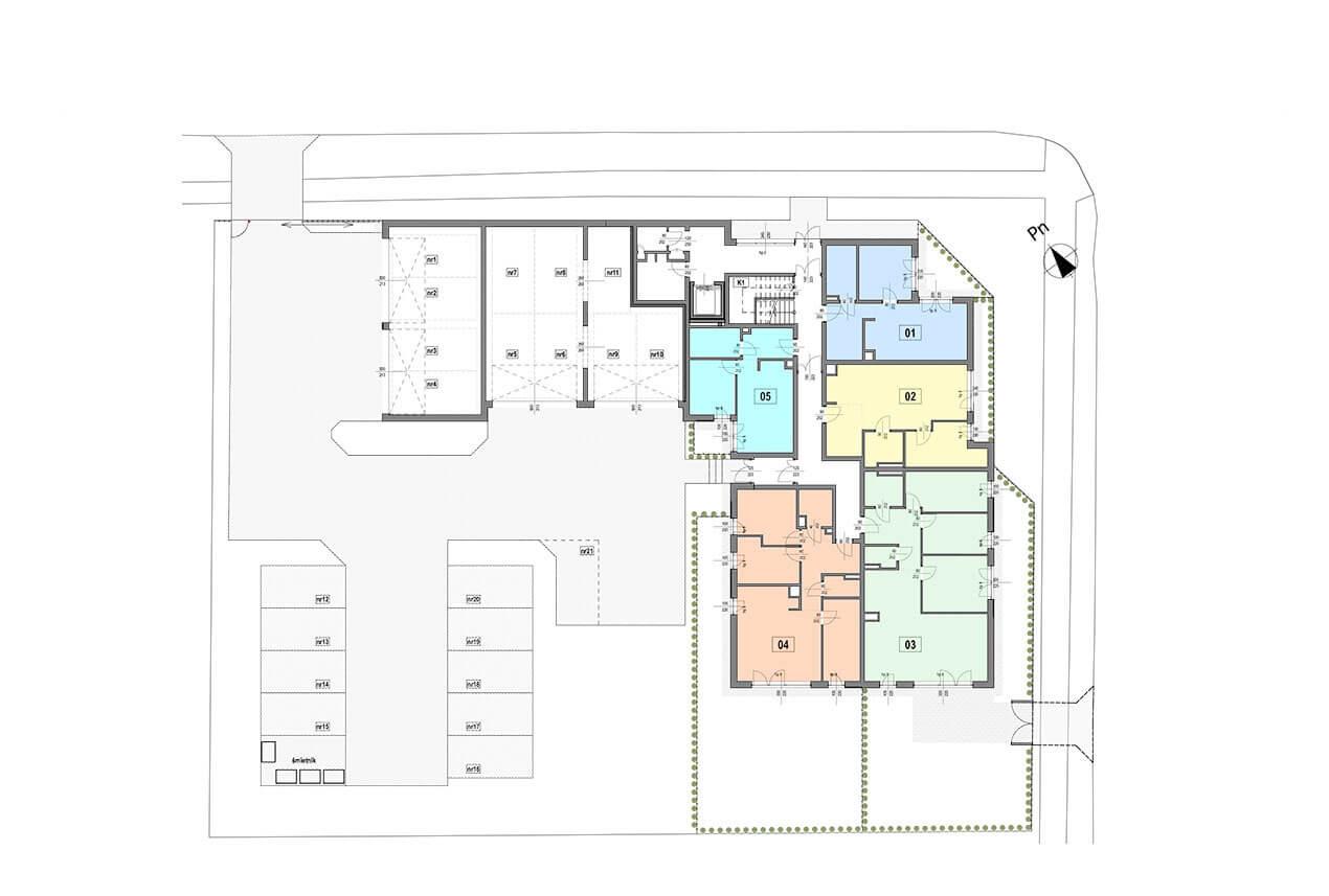 Apartamenty Gombrowicza 27 -  - Parter
