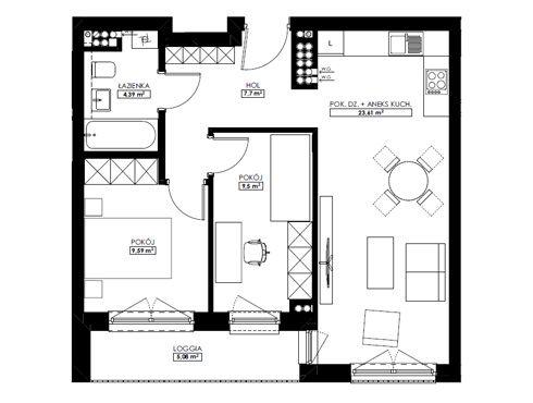 Mieszkania 3-pokojowe