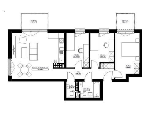 Mieszkania 4-pokojowe